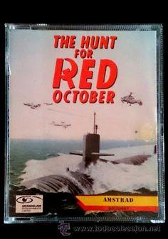 Juego Amstrad CPC Cinta - The Hunt for Red October (1988) Español