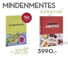 Mindenmentes könyvek 20% kedveménnyel! Healthy Deserts, Healthy Recipes, Helpful Hints, Pcos, Gluten Free, Nutella, Diet, Vegan, Mint