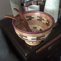 First Segmented Bowl by Bondo Gaposis