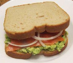 Lox Sandwich Recipe With Avocado And Onion
