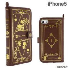 Alice in Wonderland iphone 5 book case