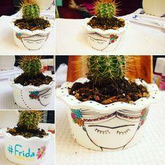 Cactus Frida Cactus, Planter Pots, Plant Pots