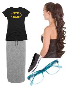 """My ootd-bleh geek"" by modest-fashionista87 on Polyvore featuring DKNY, Skechers and Derek Lam"