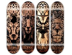 Lasered & Etched by Joshua M. Smith, via Behance