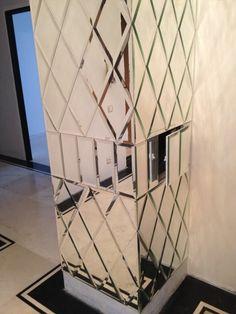Украшаем интерьер зеркалами с фацетом, фото-примеры – Rehouz