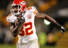 Dwayne Bowe - Kansas City Chiefs v Pittsburgh Steelers
