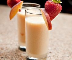 A smoothie for people with diabetes that uses non-fat yogurt.  Drink it for breakfast, or have it as an afternoon snack on a summer day.  DiabeticLifestyle includes nutritional and diabetic exchange so that you can plan your meals and snacks, whether you have type 1 diabetes or type 2 diabetes. Easy, free diabetic recipe that takes under 10 minutes.