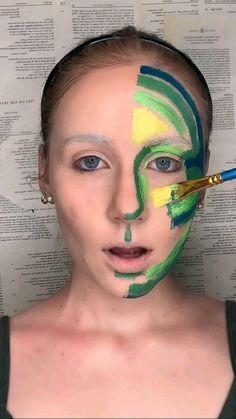 Cool Makeup Looks, Creative Makeup Looks, Crazy Makeup, Cute Makeup, Pretty Makeup, Sfx Makeup, Costume Makeup, Makeup Art, Makeup Stuff