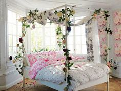 No room will appear good if it's messy. It is not hard to wash the room in the event the bags aren't on the ground. A Victorian or Cheap Chic bed room might make the most of a metallic bed… Continue Reading → Fairytale Bedroom, Dream Bedroom, Girls Bedroom, Master Bedroom, Fantasy Bedroom, Romantic Bedrooms, Bedroom Small, Garden Bedroom, Bedroom Decor