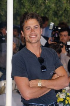 These Photos Prove That Rob Lowe Has Barely Aged Over the Years