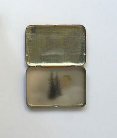 Drawings Inside Vintage Medicine Tins by Brooks Salzwedel | Faith is Torment | Art and Design Blog