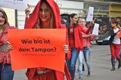Wie bio ist dein Tampon?  www.erdbeerwoche.com