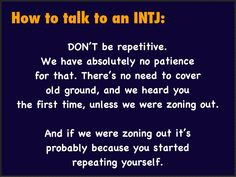 How to talk to an INTJ my man just don't get this!