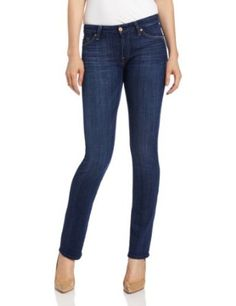 7 For All Mankind Women's Kimmie Straight $189.00 & FREE Shipping