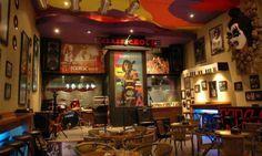 desain interior cafe classic