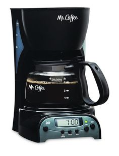 Time for coffee -  Programmable coffeemaker