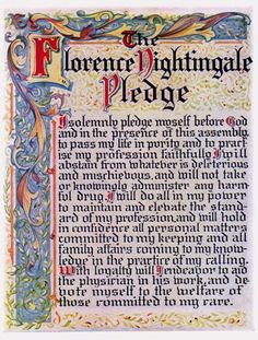 florence nightingale pledge