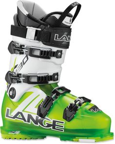 Offering advanced skiers low-volume, narrow footbeds to enhance precision—the Lange RX 130 LV ski boots. #REIGifts
