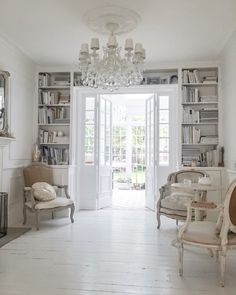 The bookcase over the door frame (I would add a ladder)
