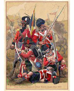 42nd Highland Regiment - The Black Watch, 1815
