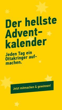 24 Tage, 24 Chancen auf bierige Gewinne! www.ottakringer-adventkalender.at Advent, Movie Posters, Calendar, Christmas, Film Poster, Billboard, Film Posters