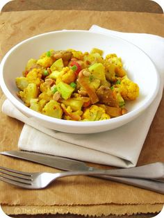 The Creative Pot: Indian Style Potato Salad-vegan mayo
