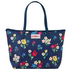 12cec9a31b21 Cath Kidston Paradise Bunch Small Leather Trim Tote