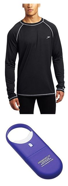 68261a008e316 Speedo equals better fit, performance, quality, and innovation! The Easy  Long Sleeve Swim Tee is a great rashguard coverup top from our men's  fashion line ...