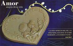 La única verdad de esta vida y la única fuerza es el amor. Verso de José Martí #DiaDelAmor