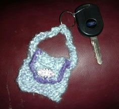 Cindy's Stitches makes hand knit key chains too. Hope to have more pics soon.