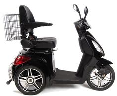 Electric Scooter For Kids, Electric Tricycle, Electric Motor, Scooter Bike, Past Papers, Large Storage Baskets, Future Car, Go Kart, Girl Humor