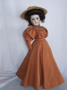 """ALLURING 18"""" Simon Halbig 1159 Lady Doll from gandtiques on Ruby Lane"""