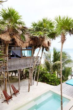Visit our award-winning Tulum beachfront hotel & houses at Papaya Playa Project Hotel. Tucked away on the far north of the property, overlooking the caribbean sea, you will discover breath-taking Beach Casas. Honeymoon On A Budget, Beach Honeymoon Destinations, Honeymoon Spots, Romantic Honeymoon, Dream Vacations, Vacation Spots, Romantic Travel, Honeymoon Ideas, Romantic Vacations