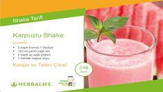 Herbalife Shake Tarifleri / Karpuzlu Shake