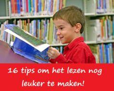 Als leerkracht vind ik het heel belangrijk dat mijn leerlingen graag lezen. Het lezen aantrekkelijk maken is niet altijd even makkelijk. Op deze site vind je 16 tips om het lezen nog leuker te maken! Ga vlug een kijkje nemen.