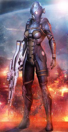 Mass Effect,фэндомы,ME art,Cerberus,RedLineR91