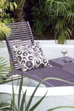 Find the right products to enhance your garden wood and furniture at Cuprinol. Outdoor Chairs, Outdoor Furniture, Outdoor Decor, Cuprinol, Color Violeta, Sun Lounger, Shed, Deck, Relax