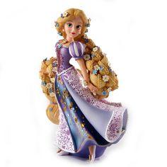 Disney Figurine Showcase Rapunzel: Amazon.co.uk: Kitchen & Home