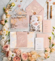 Rose Gold Wedding Invitations with Vellum Glitter Foil Wrap Envelope with Blush Pink Wax Seal Affordable Wedding Invitations, Handmade Wedding Invitations, Gold Wedding Invitations, Wedding Invitation Suite, Wedding Stationery, Invitation Cards, Invitation Templates, Wedding Programs, Invitation Design