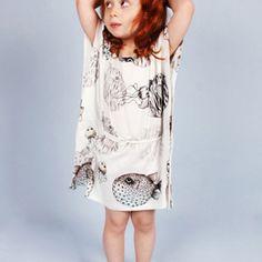 Mini Rodini - Fish Dress