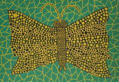 Butterfly | Yayoi Kusama, Butterfly (1990)