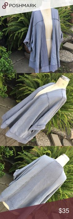 "Free People Cardigan Like new. Measurements: shoulder to hem 33"", sleeve length approx 13"", sleeve opening 23"" around. Free People Sweaters Cardigans"