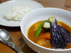 Soup curry, specialty in Hokkaido