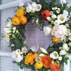 fresh wreath (spring)