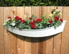 Boat Fence Planter