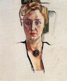 Stanley Spencer (British 1891–1959) Portrait Of Anny Lewinter Frankl.