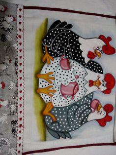 57 Ideas For Patchwork Cozinha Galinha Patchwork Tiles, Patchwork Baby, Crazy Patchwork, Patchwork Patterns, Applique Patterns, Quilt Patterns, Chicken Crafts, Chicken Art, Motifs D'appliques