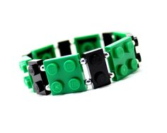 Hey, I found this really awesome Etsy listing at https://www.etsy.com/listing/166616637/geek-bracelet-in-green-and-black-made