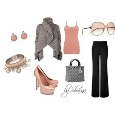"This site is as addicting as Pintrest!  Argh!  I love it though! ""classy lady"" Polyvore"