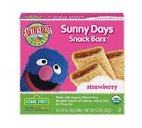 Earth's Best | Sunny Days Snack Bars  - Strawberry